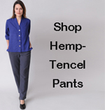 Shop womens hemp - Tencel pants